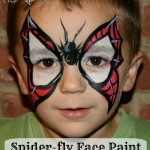 Butterfly face paint alternatives for boys