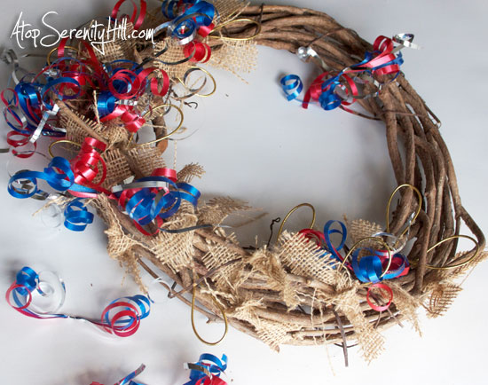 4thofjulycurlingribbonwreath