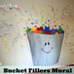 Bucket fillers mural • Creative Every Day • June