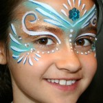 Halloween face painting • fairies and princesses
