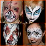 Last minute Halloween face painting ideas