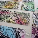 Free watercolor doodle printable