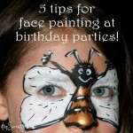 5 quick tips for face painting at birthday parties