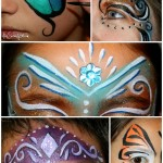Simple brushstrokes to improve your face painting