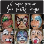 6 popular face painting designs