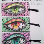Quirky eye bookmarks