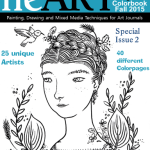 heART Journal Magazine's first Colorbook Issue