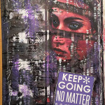 Mission Inspiration art journal page • No matter what