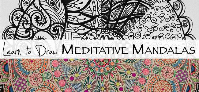 Meditative Mandalas class is live!
