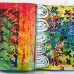 A Peek Inside: my art journal